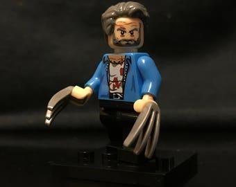 Old Man Logan Custom Minifigure | Wolverine | X-men