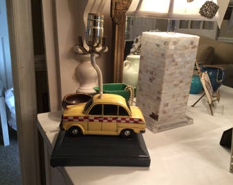 Delightful New York City Yellow Taxi Cab Lamp