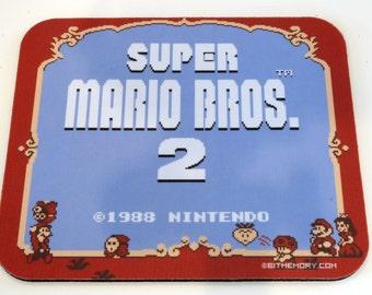 NES Mouse Pad - Super Mario 2
