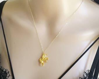 Unicorn Necklace, Gold Unicorn Necklace, Unicorn Charm Necklace, Magical Unicorn Necklace, Magical Necklace, Fantasy Necklace, Horse