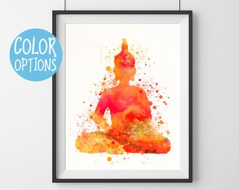 Buddha wall art - yoga studio decor - wall art - inspirational