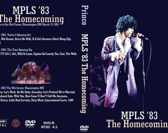 Prince Homecoming 1999 Minneapolis show 2dvd set