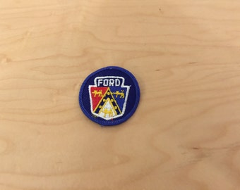 vintage ford patch, new old stock, 1960's