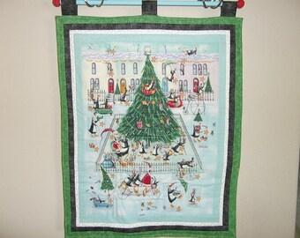Christmas Advent Calendar - Penguin Town