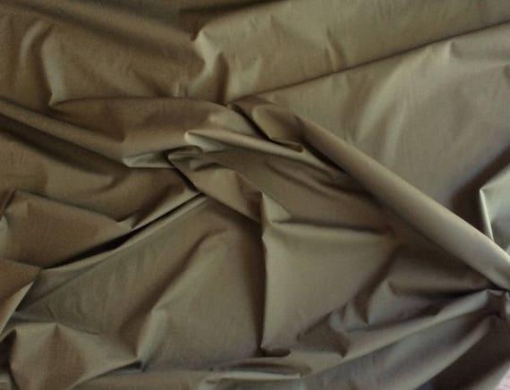 High quality cotton poplin, khaki no21