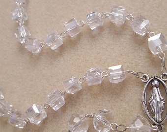 Crystal Cubes Rosary