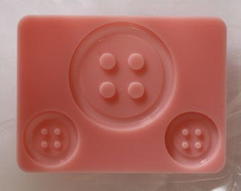 Buttons silicone mold