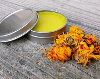 Calendula Salve Naturally Treat Cuts and Scrapes