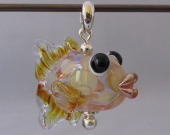 Hollow glass fish