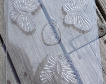 Cut Glass Butterfly Soap Mold