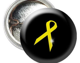 Childhood cancer awareness  circles for 1.25 inch button maker -Digital Collage Sheet - Button machine graphics