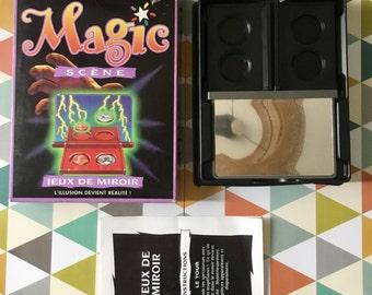 Magic stage (magic trick) games of mirror