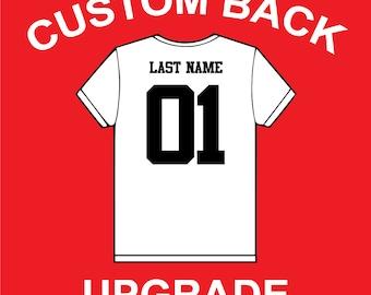 Add a Custom Back UPGRADE