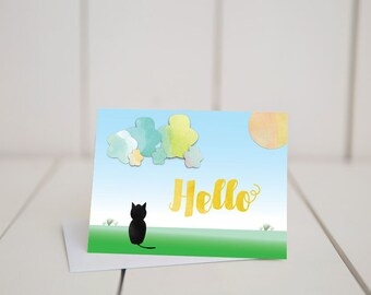Stationary Card- 5.5x4 folded note card