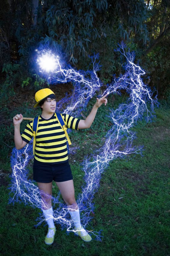 Bumblebee Ness Earthbound Super Smash Bros Cosplay Bundle (Thick Lines) oPCzH
