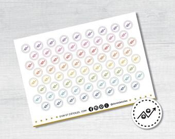 Statistics stickers. Stats Stickers