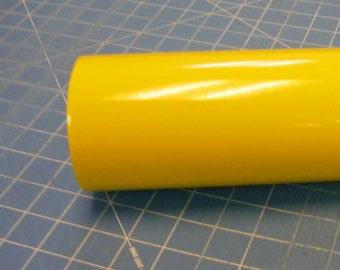 "Yellow Oracal 651 12"" x 5' (5 feet) Roll * Sign Vinyl * Decal Vinyl"
