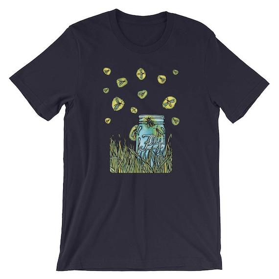 Fireflies by Sarah Angst - Short-Sleeve Unisex T-Shirt