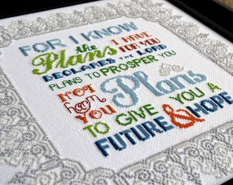 Jeremiah 29:11 | Cross-Stitch Pattern