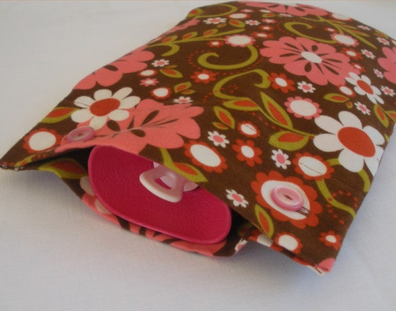 Hot Water Bottle Cover PDF Sewing Pattern for Fleece or Flannel ...