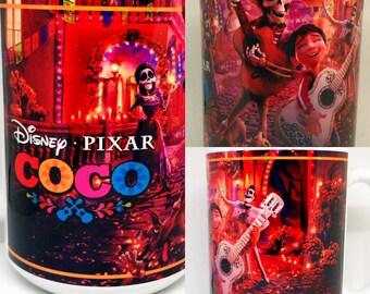 Custom Made COCO The Movie V2 Coffee Mug 15oz with your name Personalized