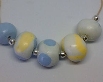 Polymer beads in pastel