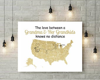 Long Distance Relationship Gift Ideas | Gift For GRANDMA | Moving Away Gift From Grandchild | Nana Gift | Mimi Gift  - 48477