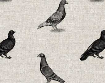 Pigeons Seamless Pattern - Digital Paper for Scrapbooking, Craft and Design Projects