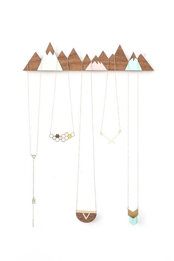 Mountains Jewelry Display jewelry organizer jewelry hanger