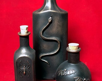Apothecary Bottles Group K
