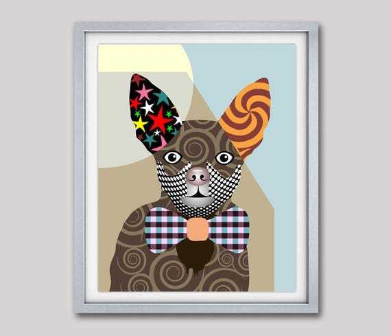 Chihuahua Art, Chihuahua Print, Chihuahua Painting, Chihuahua Gifts, Dog Painting, Dog Portrait, Dog Poster, Dog Lover Gift, Dog Pop Art