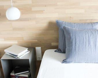 Softened Linen Pillowcase - Linen pillow case - Gray linen bedding - Stone washed linen - Gray - Bed linens