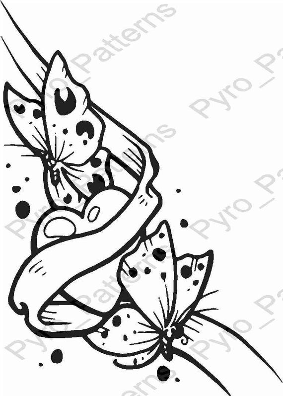 Tactueux image for wood burning stencils printable