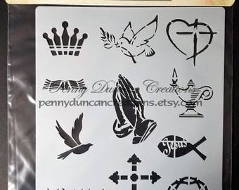 Christian Symbols - Small