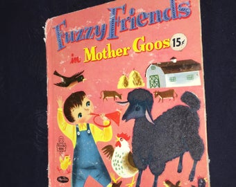 1962 Fuzzy Friends in Mother Goose
