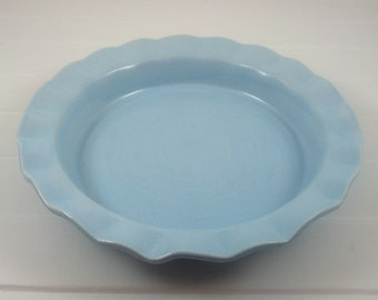 Blue Pie Plate