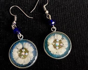 Erring reail  flower handmade  jewelry design