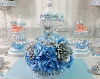 Baby Shower Centerpieces Images ~ Baby shower centerpiece for prince baby shower boys royal baby