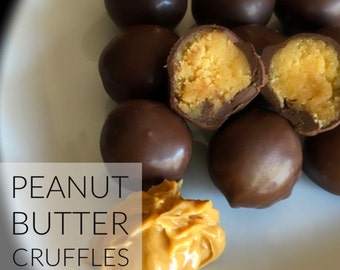 Peanut Butter Cruffles