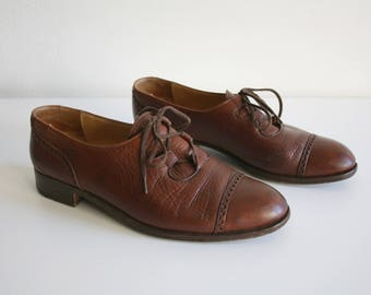 Italian Gravati Oxford Shoes 7.5 / 8