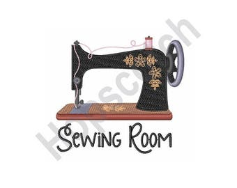 Sewing Machine - Machine Embroidery Design