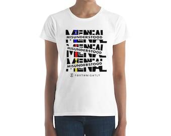 Misunderstood Millennial Women's short sleeve t-shirt