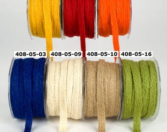 "May Arts 3 yards 1/2"" Jute Burlap Woven Ribbon 408"