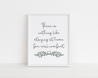 Emma | Quote Art Print | Book Quote | Literary Art | Housewarming Gift | Gifts for Her