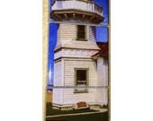 "Magnet  Set  - Mukilteo Lighthouse 5.25"" x 1.75"""