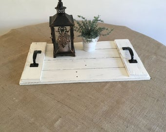 Pallet Tray, Pallet Centerpiece, Wood Pallet Tray