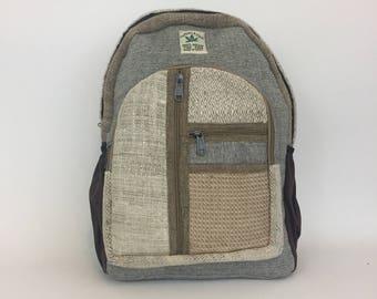 Hemp Backpack / Laptop Backpack / Camera Backpack / Boho Backpack / Camera Bag