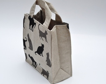 Lunch bag  - Cats - READY TO SHIP