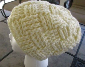 Waffle Cone Slouchy Hat