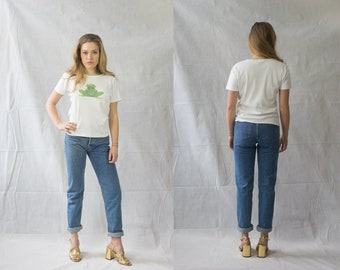 T-shirt with frog print